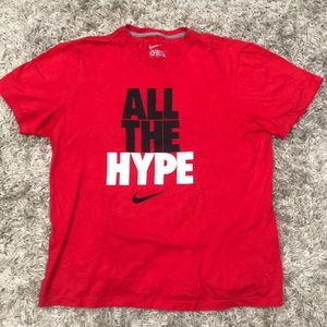 Nike All the hype t-shirt.
